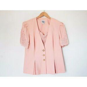 R&M Richard by Karen Kwong | Vintage Pink Blazer